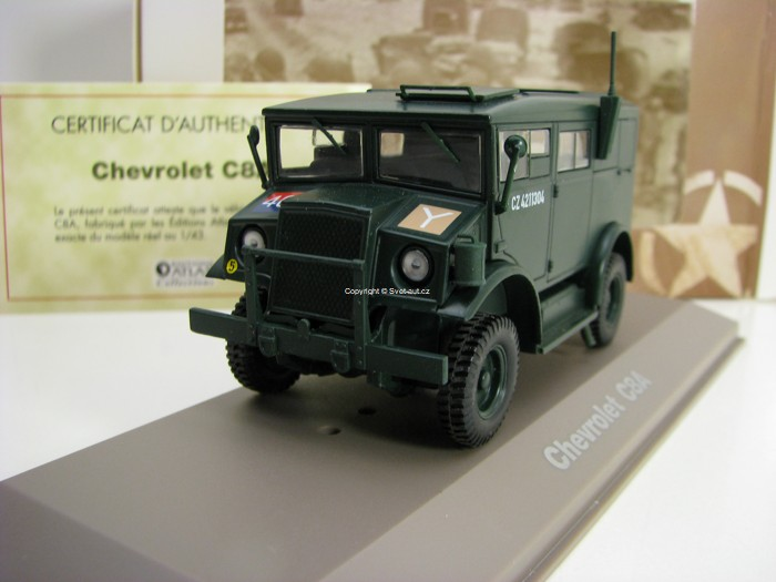 Chevrolet C8A 1:43 Atlas Edition
